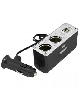 Adapter USB 12/24V - 2x5V/500mA + 2x12/24V/5A
