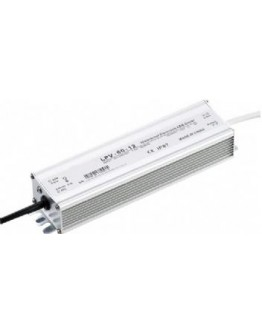 Waterproof switching power supply for LED strips and modules 12V / 5A