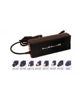 Universal Laptop adapter 90W 15-24V+USB