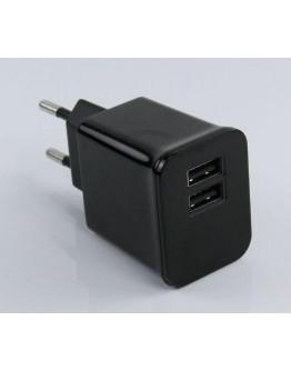 Adapter USB 220V - 2x5V/2A