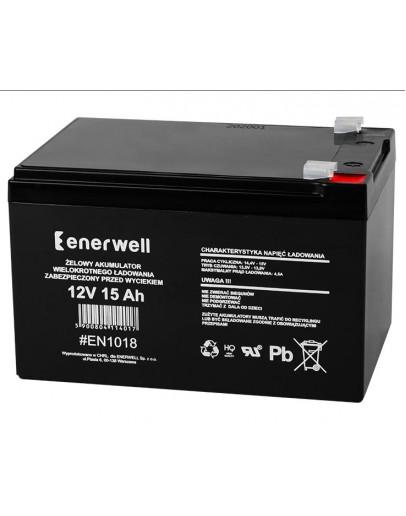 Lead acid battery 12V/15Ah ENERWELL