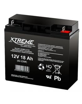 Lead acid battery 12V/18Ah XTREME