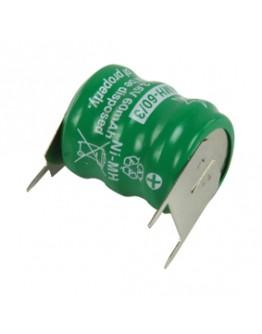 Battery pack 3.6V/60mAh, D5