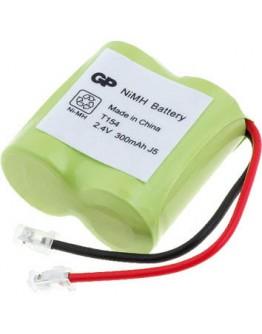 Battery pack 2.4V/300mAh