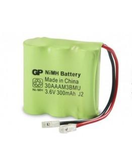 Battery pack 3.6V/300mAh