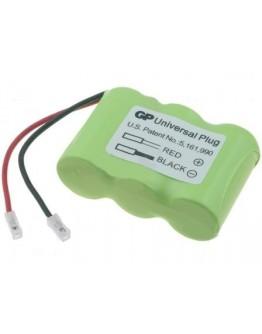 Battery pack 3.6V/300mAh PAN