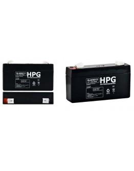 Lead acid battery 6V/1.3Ah