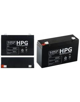 Lead acid battery 6V/12Ah