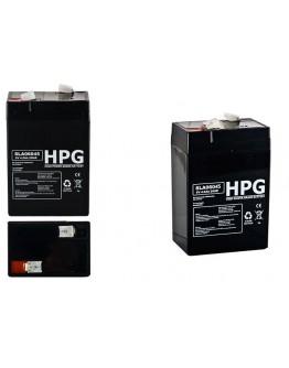 Lead acid battery 6V/4.5Ah