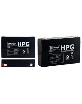 Lead acid battery 6V/7Ah