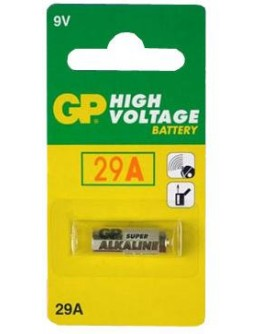 Battery 9V/29A,GP