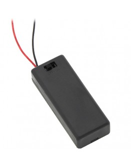Battery holder for 2 х ААА with switch