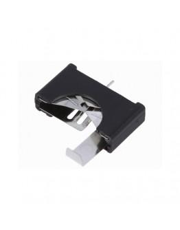 Battery holder for CR2032 vertical