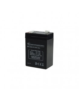 Lead acid battery 6V/4Ah, HQ