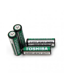 Battery AA/R6 Toshiba - long live