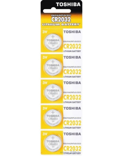 Battery CR2025, Toshiba