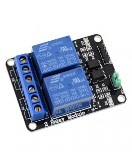 Arduino 61 - Relay module with two relays