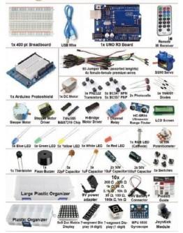 Arduino 67 - Ultimate KIT UNO R3