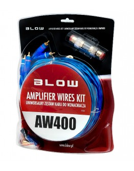 Connection kit for car amplifier AW400