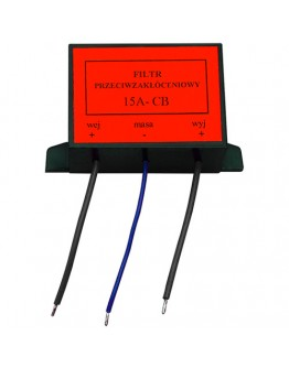 Power supply noise filter 15A
