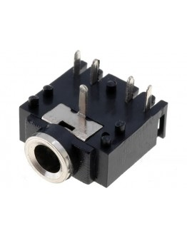 Stereo socket 3,5mm-for panel mounting-2