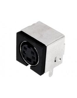 Mini DIN plug-4 pins-PCB