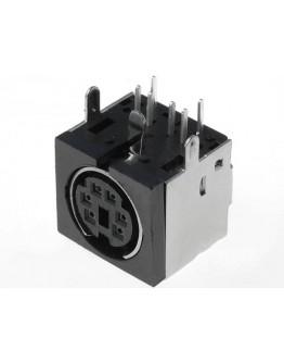Mini DIN plug-6 pins-PCB