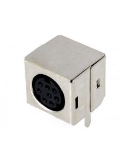 Mini DIN plug-8 pins-PCB
