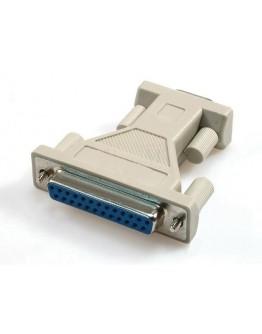 Adapter D-Sub-9 pins,F-25 pins,F