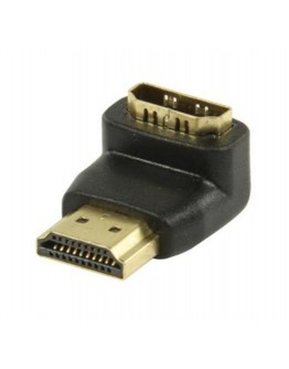 Adapter  HDMI male - HDMI female 90° angled
