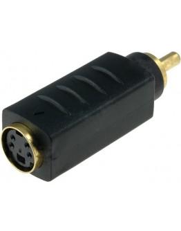 Adapter SVHS-F.-RCA-M.