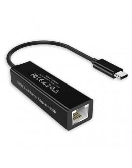 Adaptor USB TYPEC - RJ45 Lan card 10/100/1000 Mbps