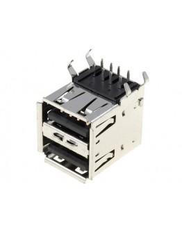 2xUSB A socket-PCB