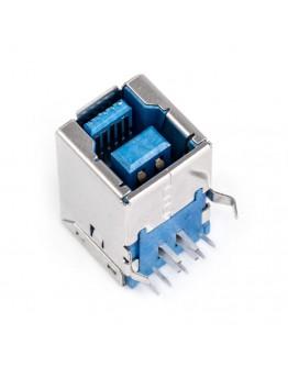 USB B 3.0 socket - for THT