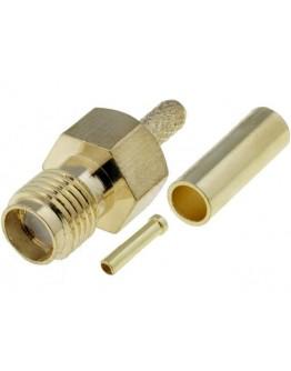 SMA plug - RG174-No reverse