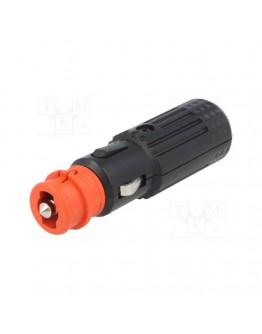 Plug for cigarette lighter socket with LED