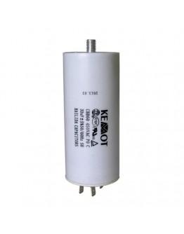 Capacitor for motors 40µF/450V+GRD