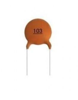 Capacitor ceramic 22pF/100V