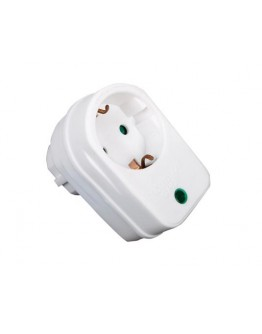 Socket with surge protector SPP01