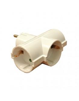3-way schuko adapter, TAF3