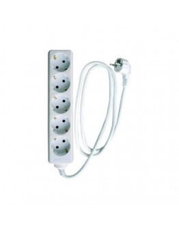 5-way power strip with 3m cabel