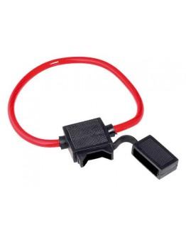 Fuseholder for car fuses