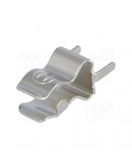 Clip for fuses 5x20mm, PCB mounting ZH8