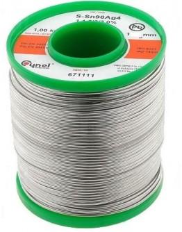 Tinol Cynel lead free 1mm 1kg SN99