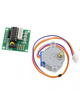 Stepper motor with control module