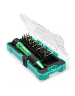 30pcs Aluminum Handle Precision Screwdriver set SD9608