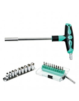 20 IN 1 T-handle Driver Sockets & Bits Set SD9701M