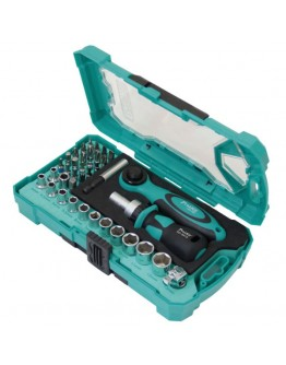 "38PCS 1/4"" Drive Socket& Screwdriver Set SD2317M"