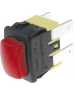 Push-button switch K PS5210PGBRS 250V/16A
