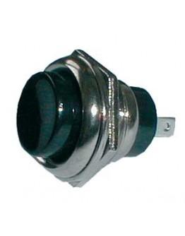 Push-button K B6 250V/2A, black